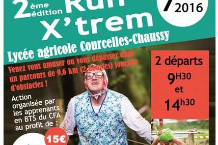 Courcelles-Chaussy  Run X'trem 2   le 7 mai