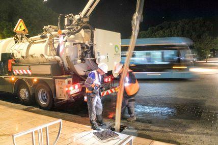 Metz : HAGANIS nettoie les avaloirs sur les voies METTIS du lundi 30 mai au vendredi 3 juin 2016