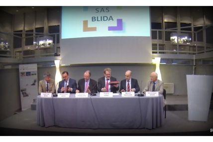 Création de la filiale de la SAEML Metz Technopôle : la SAS BLIDA