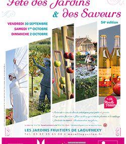 Jardins Fruitiers de Laquenexy 4e Fête des Jardins et des Saveurs