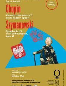 Nancy Opéra National de Lorraine  concert symphonique Soirée POLONAISE les 10 et 11 novembre 2016