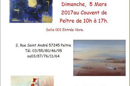 Peltre Exposition de peinture le 5 mars 2017