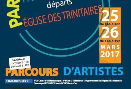 Metz « Parcours d'artistes » les  25 et 26 mars 2017