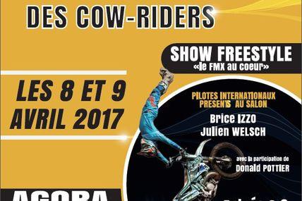 Cow Riders 25ème anniversaire du Salon du 2 roue à Saint-Avold 2017