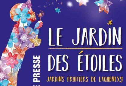 Jardins fruitiers de Laquenexy Le jardin des étoiles du 3 au 8 mai 2017
