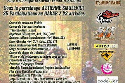 Juvaincourt (88)  1 er Salon du Grand Est Tout Terrain sport et nature les 8 et 9 juillet
