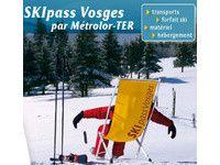 Le Ski Pass Vosges et le Métrolor Loisirs Vosges