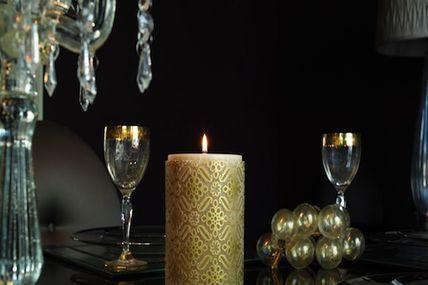 bougie de luxe. Black Bedroom Furniture Sets. Home Design Ideas