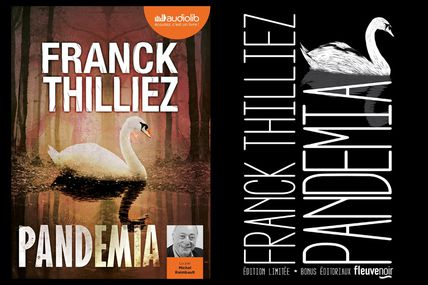 Chronique de Pandemia de Franck Thilliez (version collector/ audiolib)