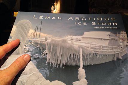 Incroyables photos de Geneve sous la glace (hiver 2012)