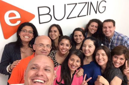 Selfie with our young and so talented #Miami Team