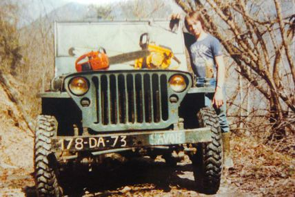 restauration de jeep willys MB de 1944