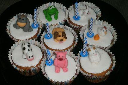 Cupcakes de la ferme