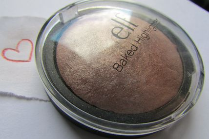 Baked highlighter de chez ELF