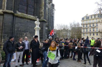 Rassemblement intermittents Bordeaux