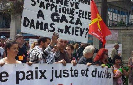 manif pour Palestine Bordeaux