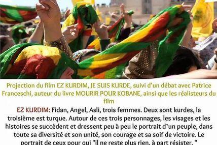 Film et débat à Bordeaux pour les kurdes..