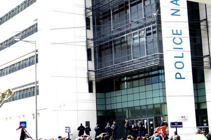 Manifestation du 28 avril , celle qui est partie  vers la gare, a été bousculée par les forces de l'ordre.