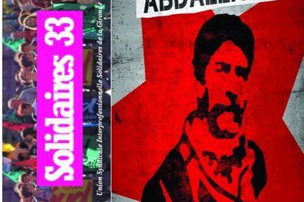 Le congrès de Solidaires 33 a voté un appel pour la libération de Georges Ibrahim Abdallah.