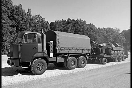 Militaire camions tp train for Porte char 60 tonnes