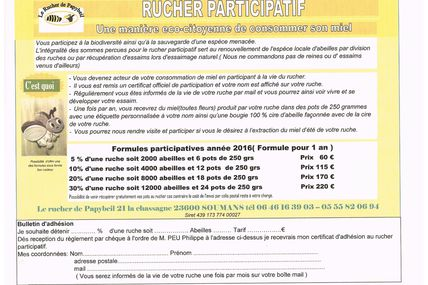 RUCHER PARTICIPATIF