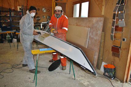 Atelier réparation kayaks les 2 et 3 février 2013