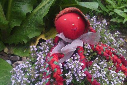 Poulpée au jardin