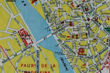 Les bains dans l'Allier à Moulins étaient réglementés
