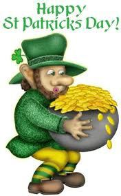 Today is Saint Patrick's day!!!!