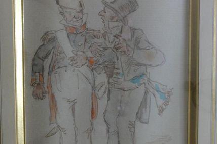 maire et pompier (Henri Pille)