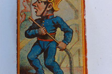 pompier de faction au theatre (tabacologie)