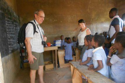 Visite de Marcel Hofkens et Jacky Denis de Togo-Debout à Sichem (Suite)