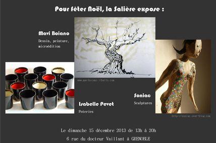 Exposition dimanche 15 décembre à La Salière