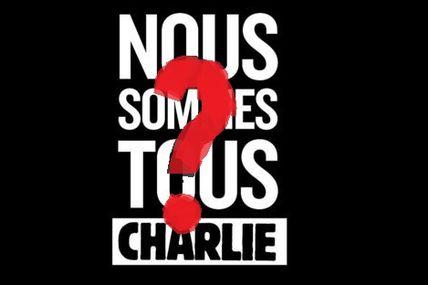 Nous ne sommes pas tous Charlie, malheureusement...