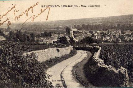 Santenay - Côte d'Or - Dépt 21.