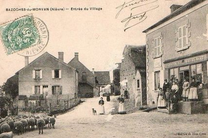 Bazoches - Nièvre - Dépt 58.