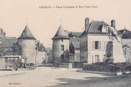 Chablis - Yonne - Dépt 89.