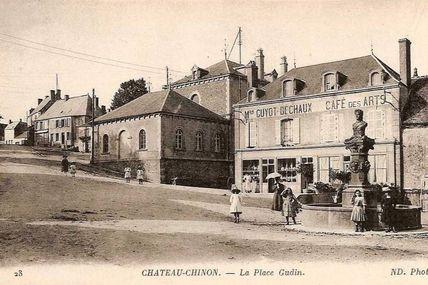 Château Chinon - Nièvre - Dépt 58.