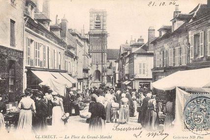 Clamecy - Nièvre - Dépt 58.