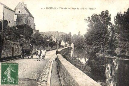 Asquins - Yonne - Dépt 89.