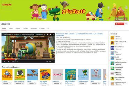 L'offre jeunesse de France Télévisions désormais sur YouTube !