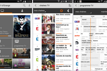 Orange Réunion : L'application TV d'Orange