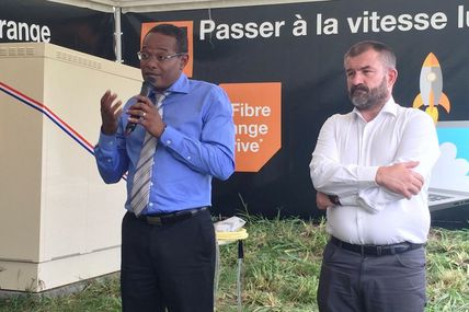 Orange Caraïbe : Inauguration de la fibre à Fort-de-France (Martinique)