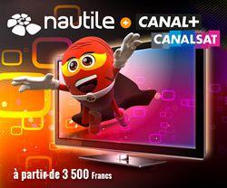 Nautile devient distributeur Canal+/Canalsat !
