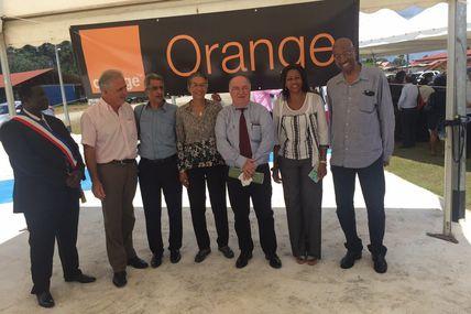 Guyane : Orange Caraïbe inaugure ses réseaux à Apatou !