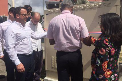 Orange Caraïbe : Inauguration d'un point de mutualisation à Schœlcher !