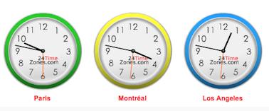 Comprendre les fuseaux horaires en 5 minutes