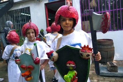 Fête des remparts : Défilé des enfants