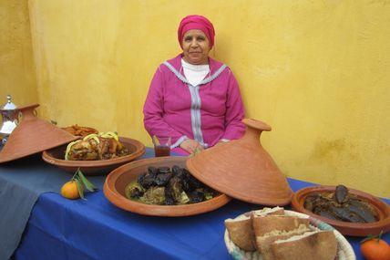 Cours de cuisine marocaine à Meknès, avec Latifa !