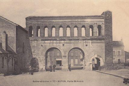 Quartiers Fauboug d'Arroux/Saint-Jean/Saint-André : la porte Saint-André.